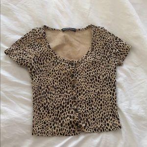brandy Melville cheetah zelly